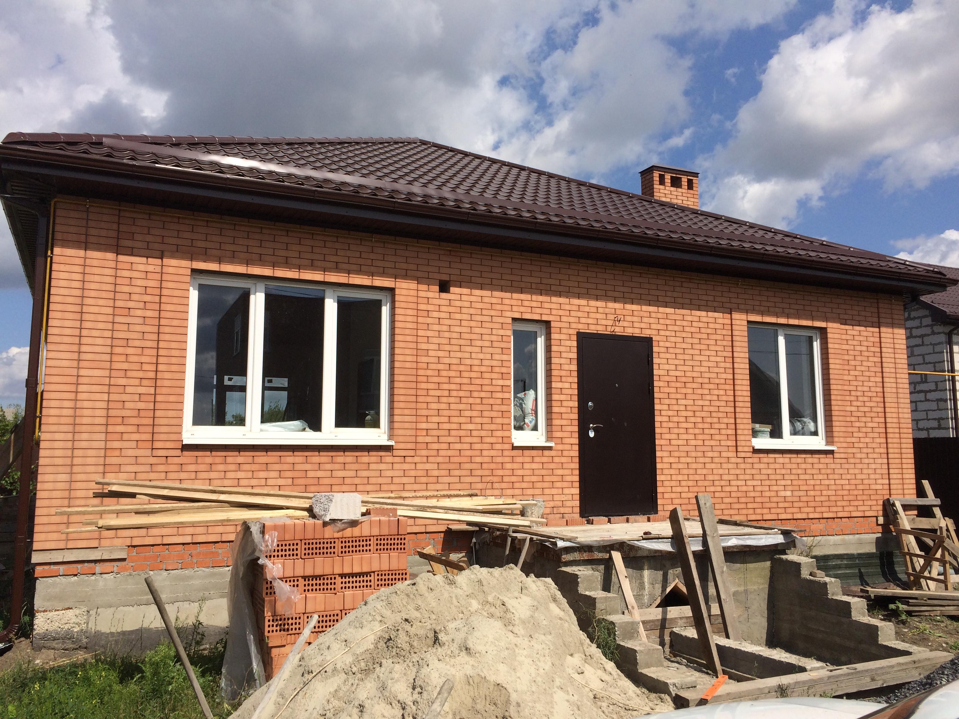 """Строительство дома в СНТ """"Донское"""""""