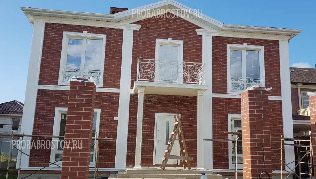 Строительство дома в х. Камышеваха.